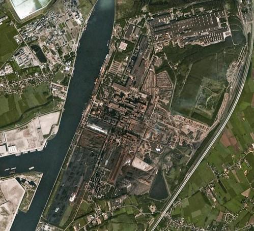 Arcelormittal Gent Steelworks Sidmar Once Again