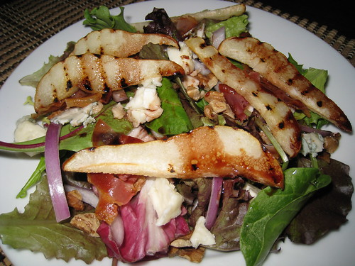 Grilled Pear Salad With Port Vinaigrette | by Kevin - Closet Cooking
