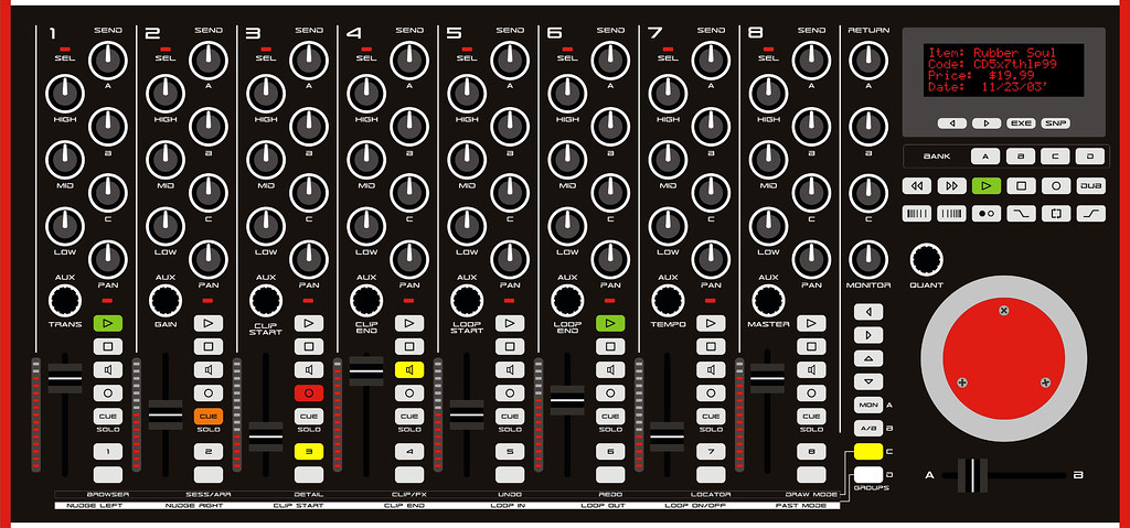 ableton live midi controller audio mixer it s been while s flickr. Black Bedroom Furniture Sets. Home Design Ideas