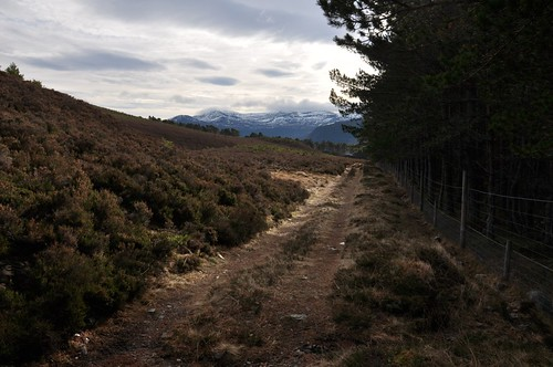 Looking back to Lochnagar