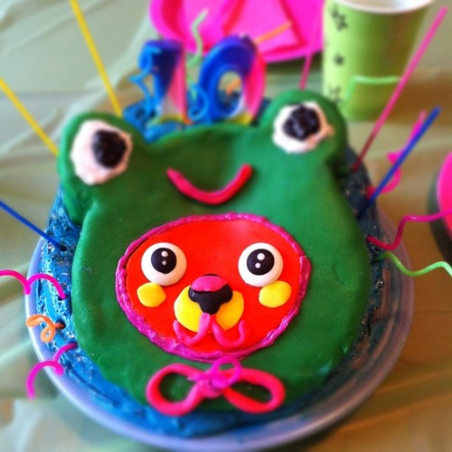 Monster Birthday Cake Decorations