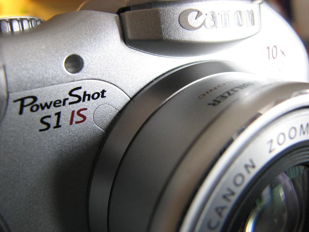 Canon PowerShot S1 IS Macro