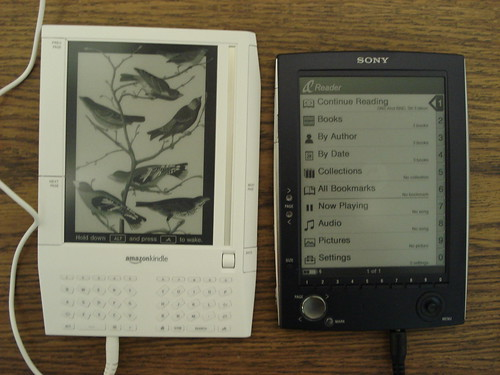 Amazon Kindle & Sony eBook | by jblyberg