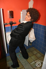 Helix Grossmen aka Tom Jones (drag king) takes a leak! | by DawnOne