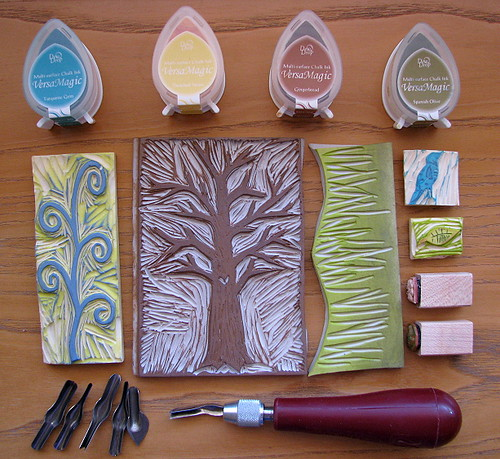 Rubber stamp stuff ged birds trees regina lord
