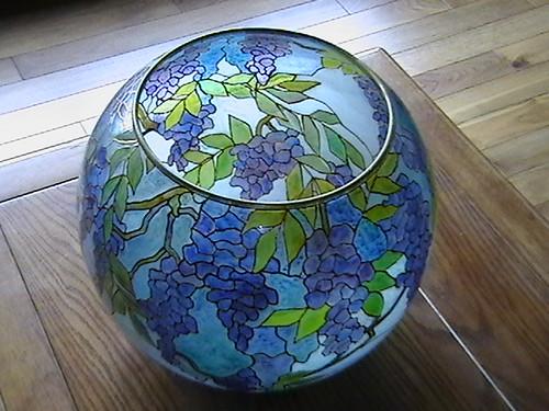 Fish Bowl Glass Painting