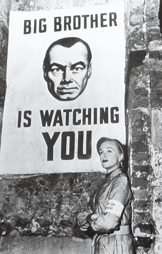 Big Brother is Watching You!   From the 1956 movie  u0026quot;1984 u0026quot; An u2026   Flickr