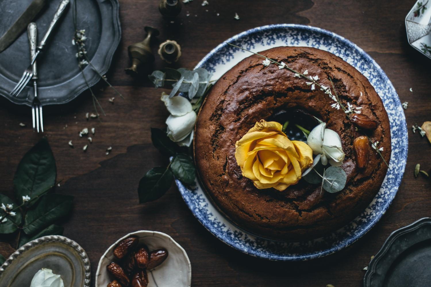 Finnish Date & Coffee Bundt Cake | Lab Noon by Saghar Setareh-16