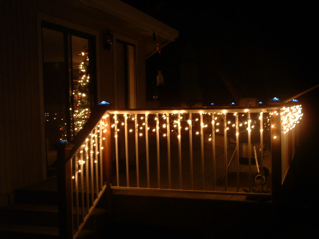 Our back deck with christmas lights 2007 love christmas li flickr our back deck with christmas lights 2007 by cathimedearis mozeypictures Gallery