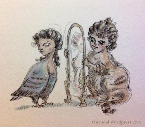 Illustration Friday: Up