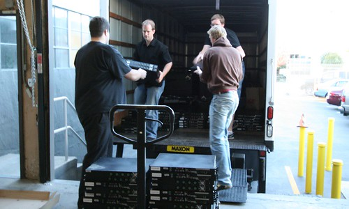 Loading the truck | by Jimbo Wales