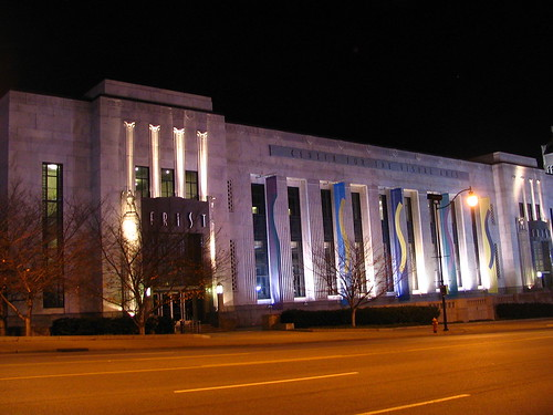 Frist Center at Night