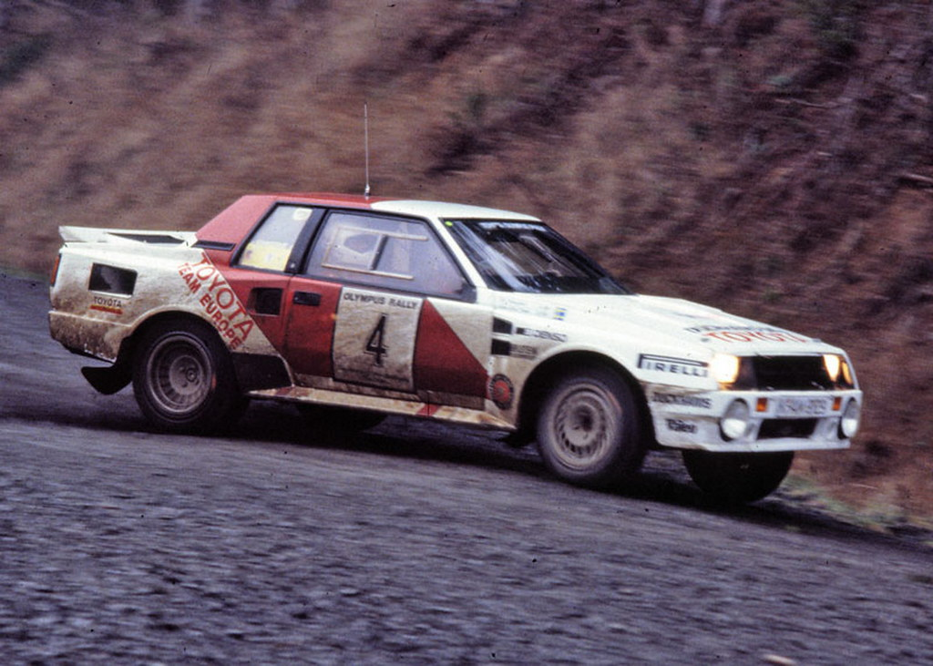 Toyota Celica 1986 Olympus Rally Lars Erik Torph And