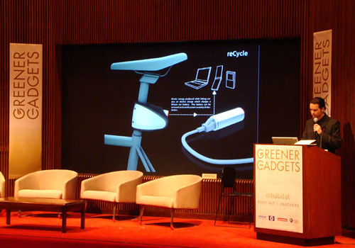 Greener Gadgets Conference: ReCycle | by Inhabitat