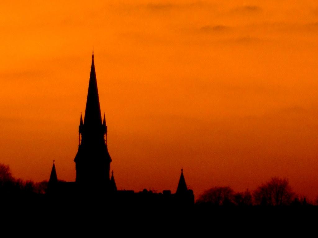 steeple silhouette | A...