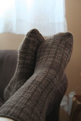 Another Pair of 3x1 Garter Rib Socks | by ElinorB