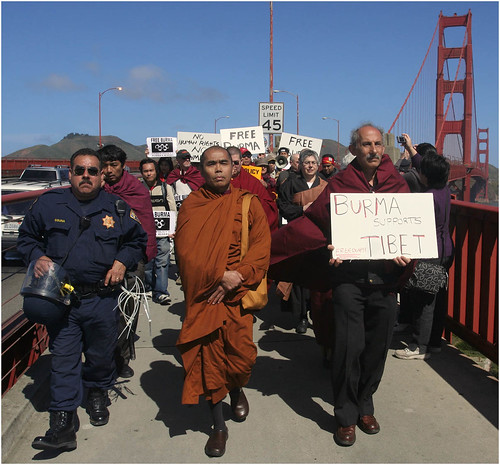 Free Burma!-Golden Gate Bridge | by kinginexile