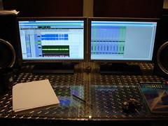 Control room screens