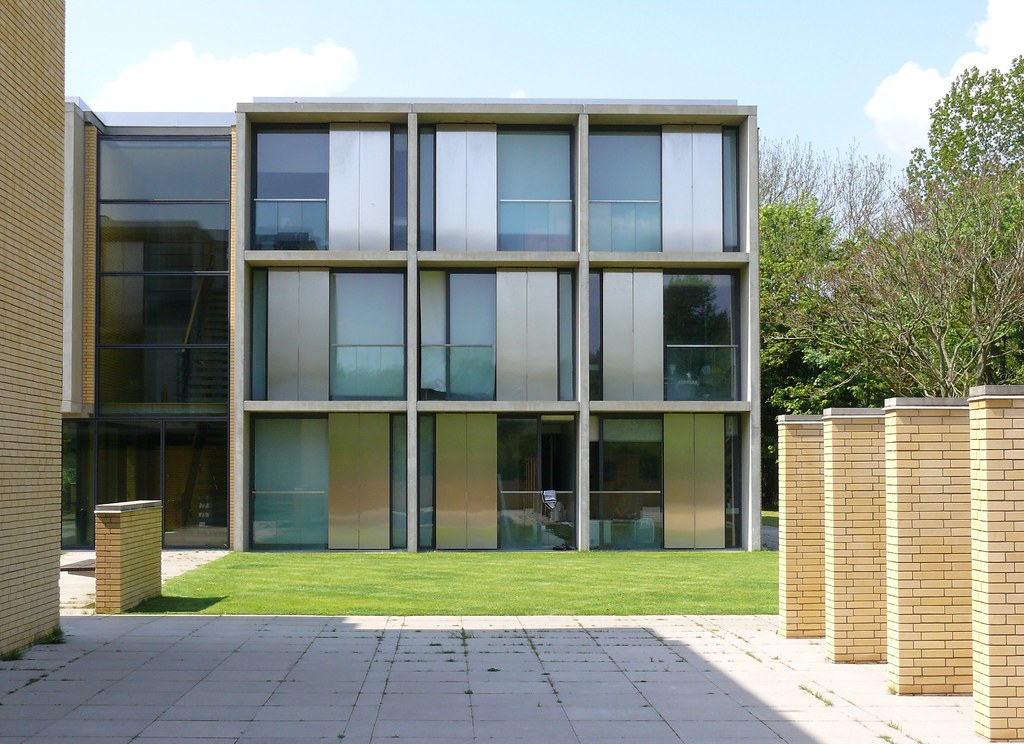 St Catherine S College Extension Oxford Architects Ste Flickr