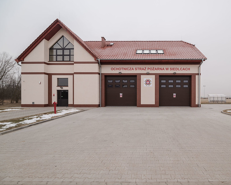 New Firestation Siedlce/Zedlitz - Poland, 13.02.2017