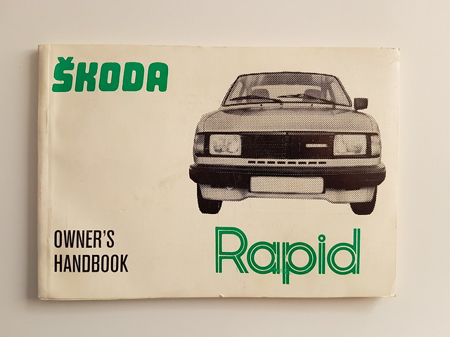 Skoda Rapid owner's manual