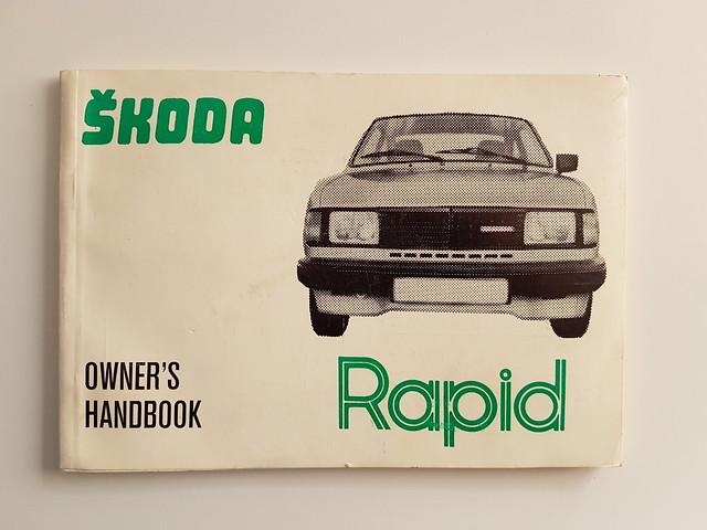 Skoda Rapid owner's manual