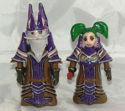 wow wedding cake topper cake toppers from world of warcraft these fimo cake 27659