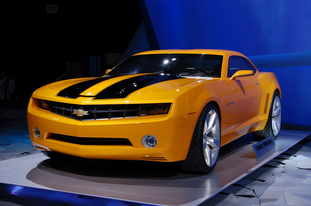 2009 Chevy Camaro Bumblebee North American International A
