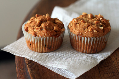 Peanut Butter Banana Muffins | by lisibit