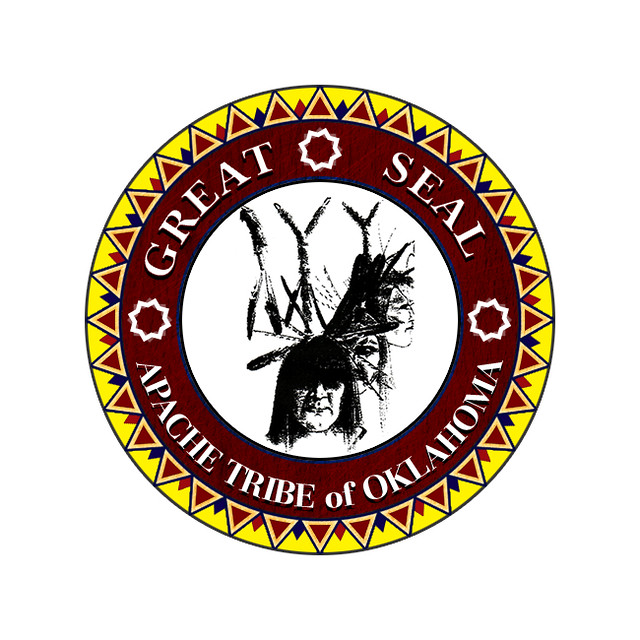 Apache Tribe Seal Location And Land Status On The Plains Flickr