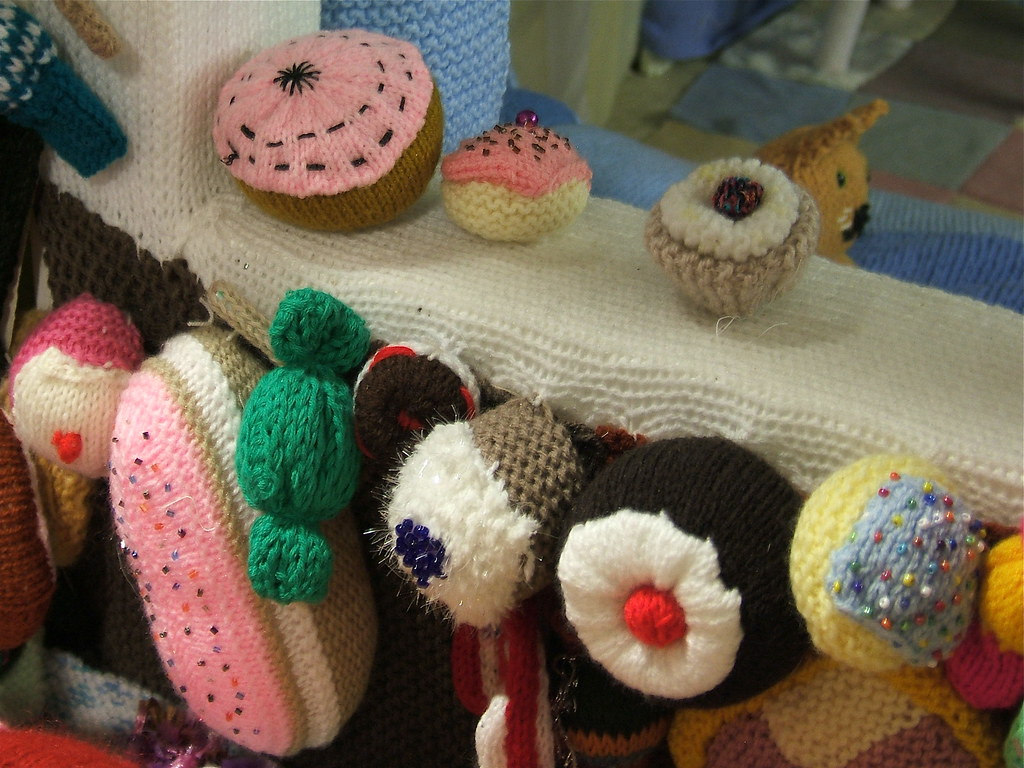 Knitted Cakes Free Patterns