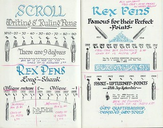 1961 William Mitchell Pen Catalog | by ddsiple