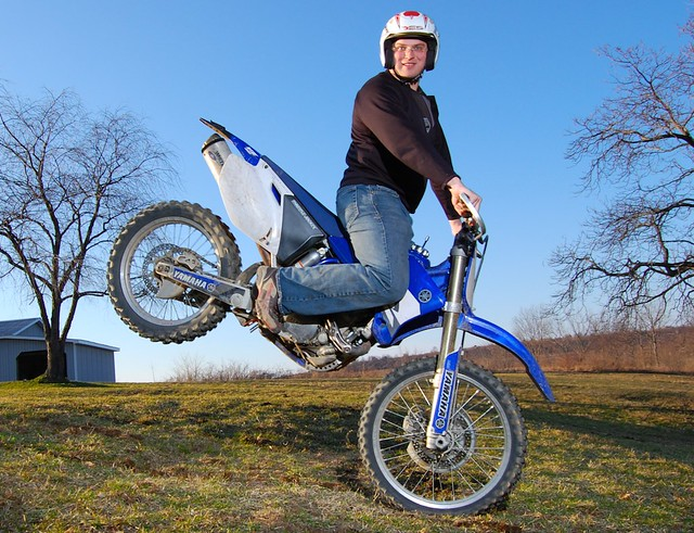 how to hold a wheelie on a dirt bike