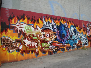 Revok MSK AWR SeventhLetter VA LosAngeles Graffiti Art | by anarchosyn