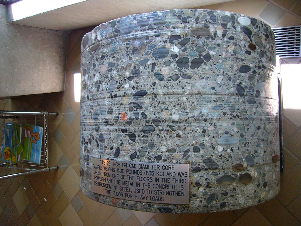 Concrete Core Sample | rebecca | Flickr