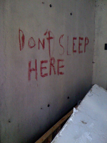 Don't sleep here | by Jeffrey