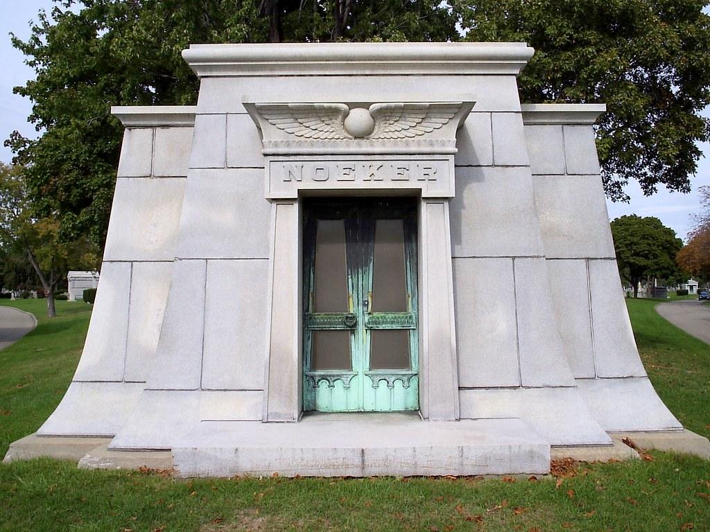 Pinehurst19475 Mount Olivet Cemetery Noeker Mausoleum Detroit MI