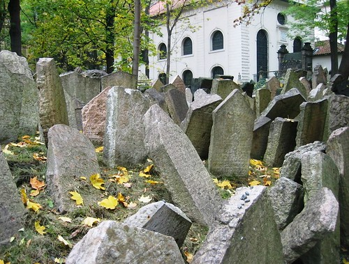 Old Jewish Cemetery, Prague | by kyle simourd