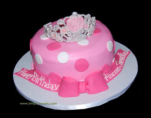 Princess Samantha tiara cake | www.simply-sweets.com | Flickr