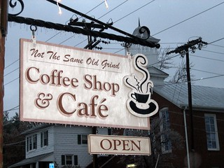 """Not the Same Old Grind"" Coffee Shop 