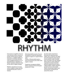 rhythm principles of design principles of design rhyth flickr. Black Bedroom Furniture Sets. Home Design Ideas
