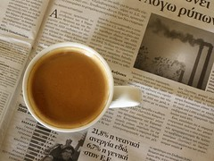 Coffee & news | by jimiliop