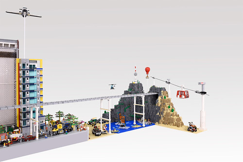 2017 Lego City Diorama...