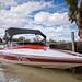 Speedboat close up - Morgan, SA