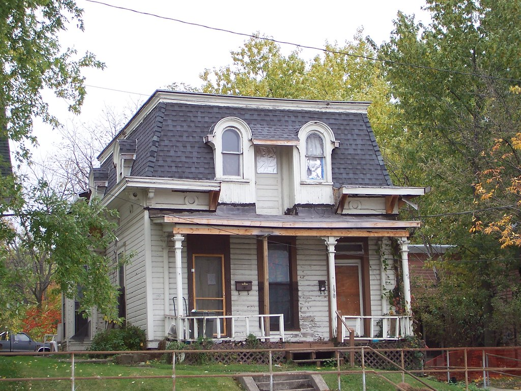 Oh Mansfield House Old House In Mansfield Ohio I