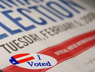 Day 36/366.....I Voted | by Denise Cross Photography