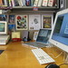 """another shot of the """"three screen"""" office MBP setup..."""