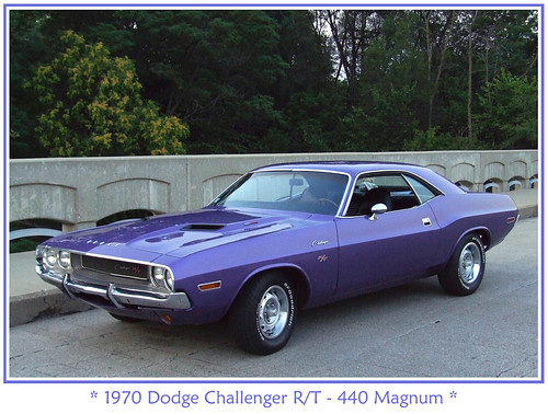 Ophelia S Adornments Blog May 2012: Plum Crazy 1970 Dodge Challenger R/T