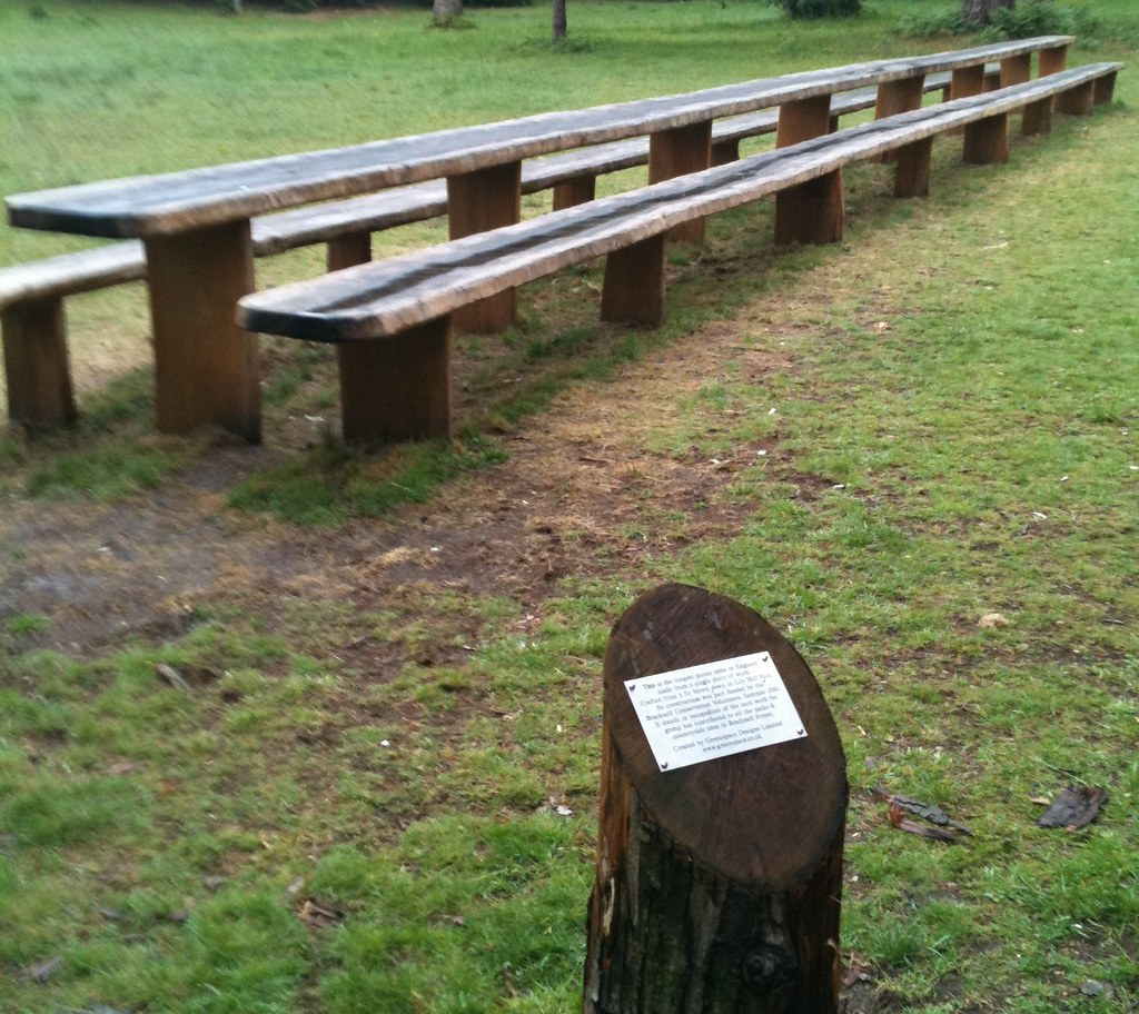 long picnic table