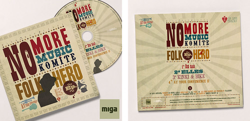 "No More Music Komite ""Folk Hero"" 